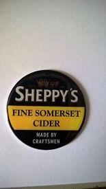 sheppys cider fridge magnet