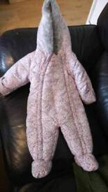 Mantaray 6-9 months Snow Suit Excellent Condition