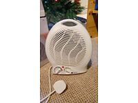 2Kw Upright Electric Fan Heater - Blows Hot and Cold Air - Collection from Whitchurch