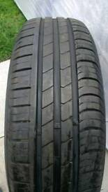 Spare tyre 185/65/15 88h 7mm tread