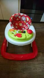 Red kite baby Walker in great condition