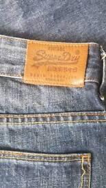 Mens Superdry jeans- 32 waist