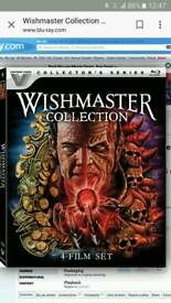 Wishmaster 1 to 4 quadrilogy blu-ray