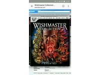Wishmaster 1 to 4 quadrilogy blu-ray