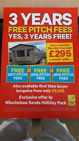 Site fees INC till 2020 !!!! 2008 Willerby vacation 35 x 12 x 2 bedroom