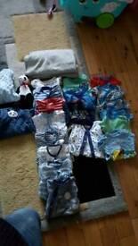 Bumper lot. Newborn boys clothes