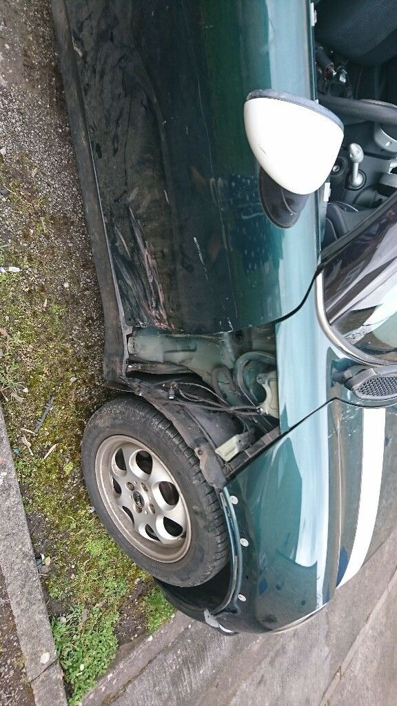 Ing My Mini Cooper As Had A Crash Cant Afford To Fix