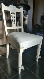 Victoriana shabby chic chairs by Rebecca Jayne