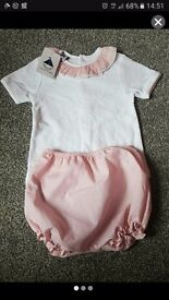 BRAND NEW WITH TAGS! AGE 1, STUNNING GIRLS 2 PIECE OUTFIT