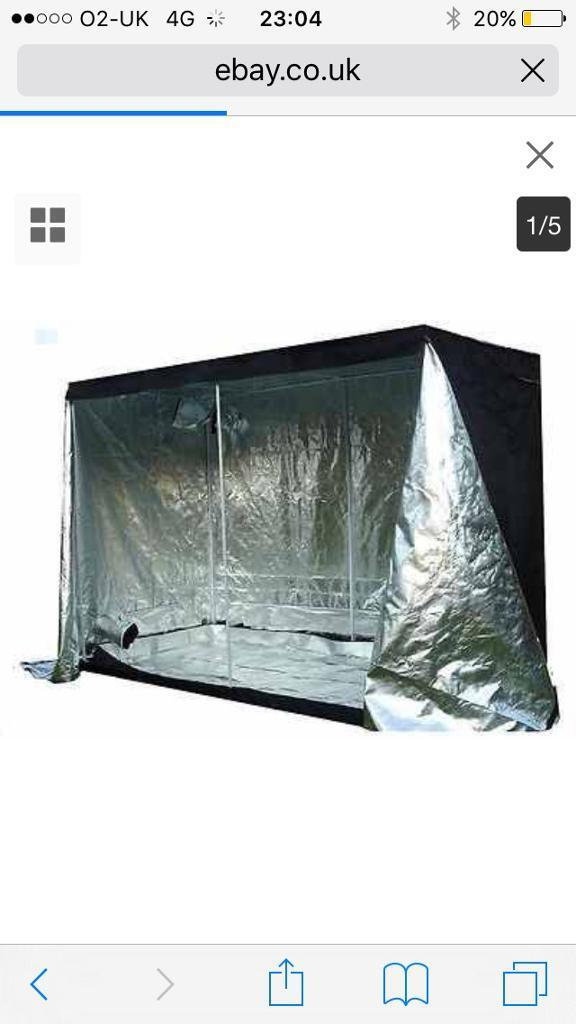 2m x2m X 2m Hydrophonics Grow Tent ACE CONDITION DELIVERY AVAILABLEin Keighley, West YorkshireGumtree - Here for sale we have a hydrophonics grow tent in ace condition nothing missions any questions please just ask delivery is available thanks
