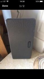 Sonos play 3 wireless speaker black / grey