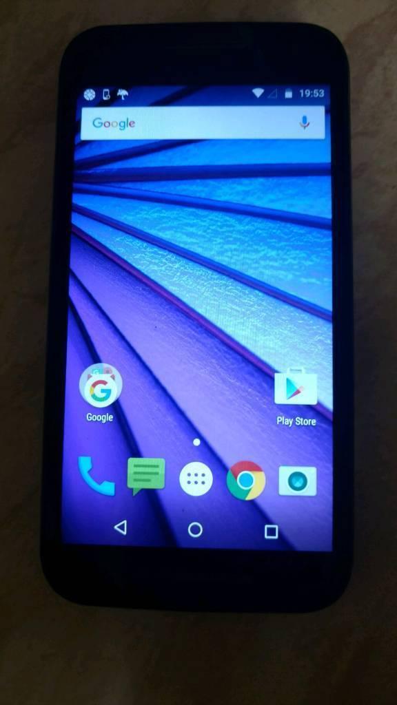 Motorola Moto G3 2gb ram/16gb storage