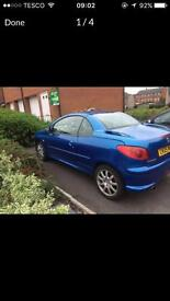 Peugeot 206cc FOR SALE!!