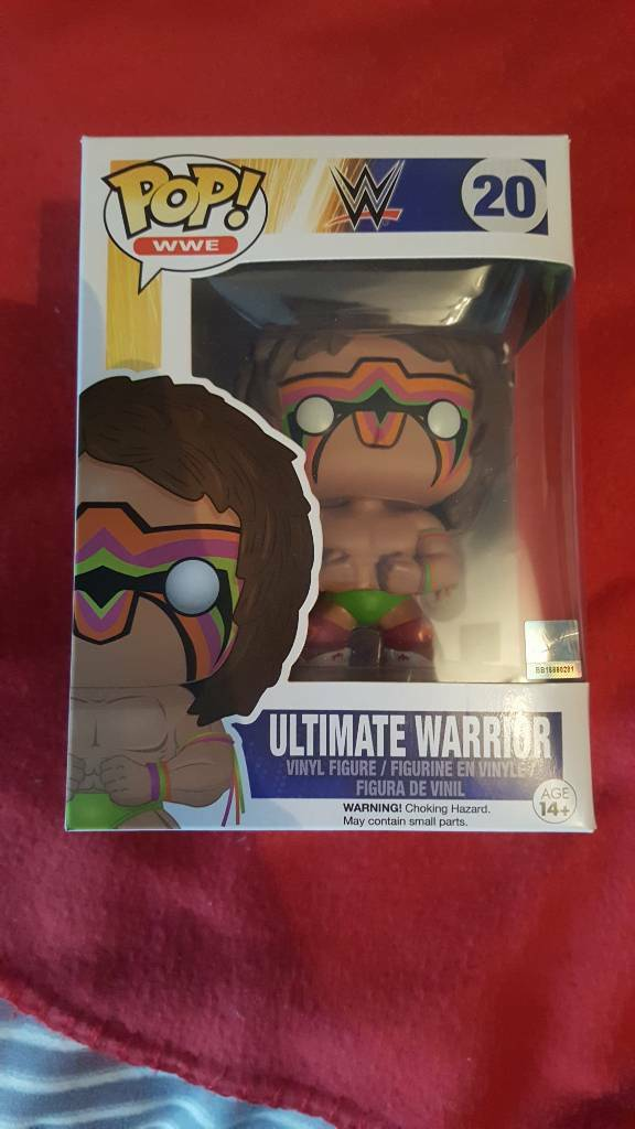Ultimate warrior funko pop