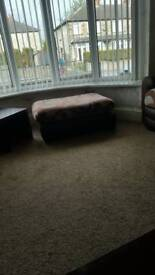 Sofa for sale(2 × 3 seater and footstool)