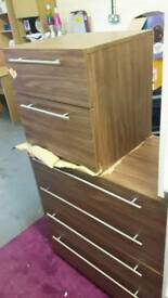 New Hallingford range Chest of drawers and bedside Drawer Unit £100