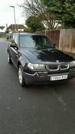 BMW X3 SPORT GREAT CONDITION JUST MOT'D LAST WEEK. Parking sensors.full auto