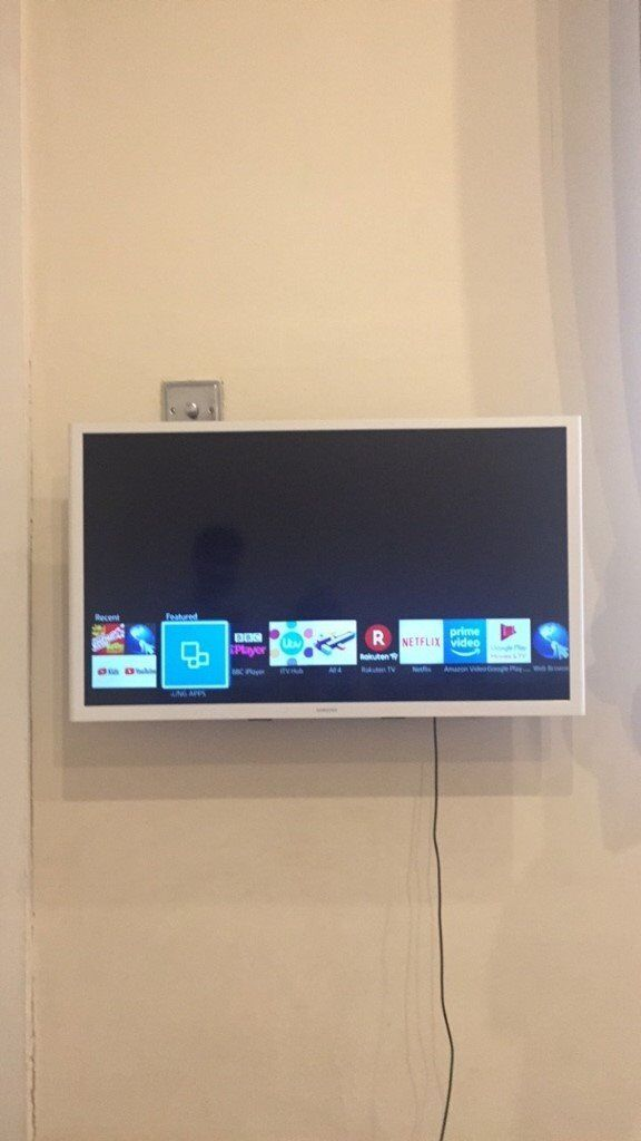 f740db080 A lovely white SAMSUNG smart TV for sale | in Liverpool, Merseyside ...