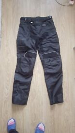 Motorbike trousers/pants - size L - men`s - used