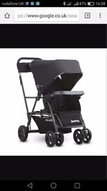 Joovy caboose ultra light double pushchair buggy