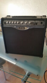 Guitar Amp Line 6 Spider II 30Watts with build in effects
