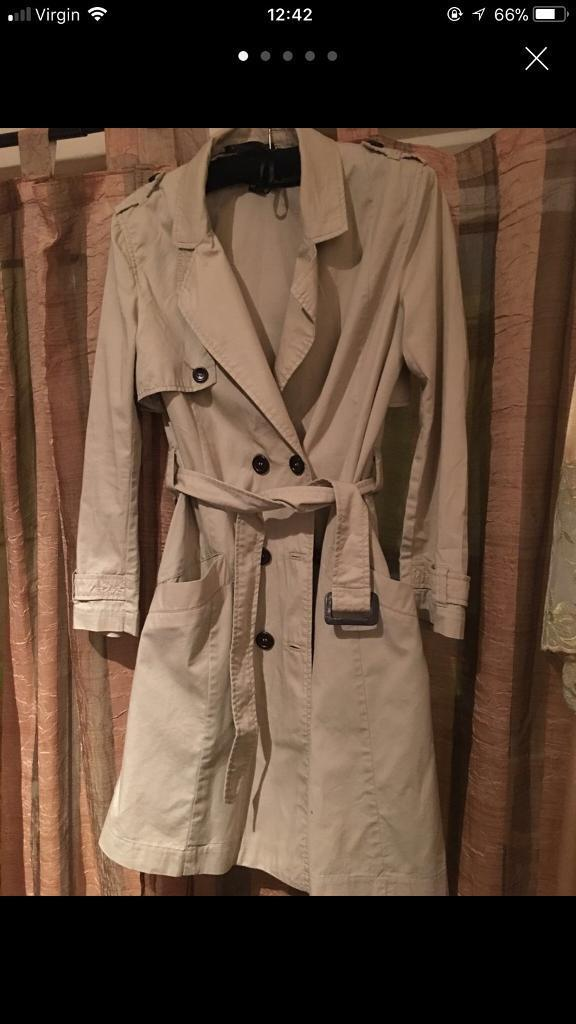 Trench coat size 12-14 from H&M