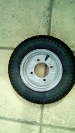 New Trailer Wheel and Tyre