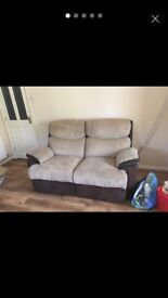Electric 2 seater recliner