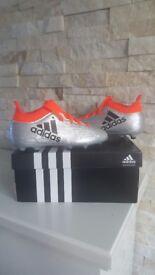 Adidas Kids Techfit x 16.3 FG Sock football boot size 11