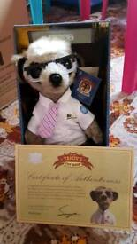 Sergei from the compare the meerkat