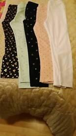 5Pair of girls leggings/jeggings