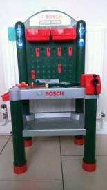 Bosch work bench with accessories