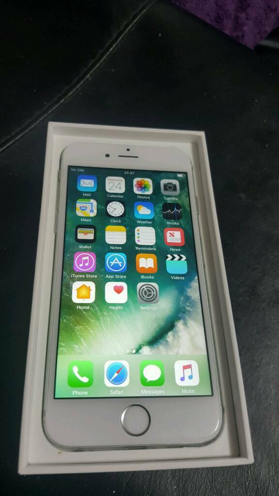 IPhone 6 unlocked 16gbin Blackburn, LancashireGumtree - IPhone 6 16gb unlocked in avreg condition overall screen is mint working perfectly with no problems just finger scanner not responding otherwise home button works comes with charger 07473903826