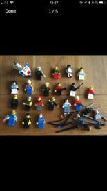 LEGO MINI FIGURES BUNDLE VGC CAN POST