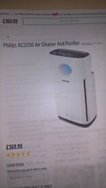 Air purifier and cleaner