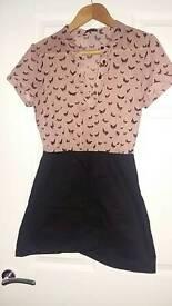Vero moda 2 in 1 dragonfly shirt dress size M