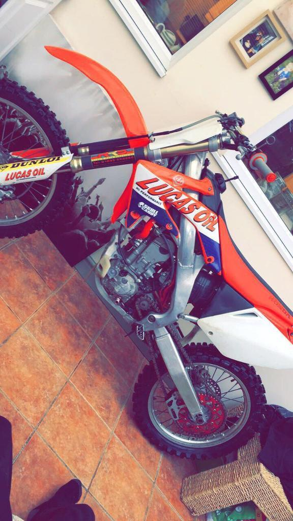 Honda crf250 ( not cr yz yx rm kx)