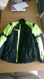 Mens Buffalo Raider Motorcycle Jacket Size XL