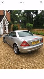 Mercedes slk 230 kompressor, full AMG pack, low mileage,stunning condition! Been fully serviced