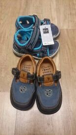 Clarks FIRST SHOES Baby Boys Infants Kids Size 5F And F&F Sandals New Size 5