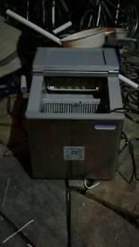 Counter top ice machine.