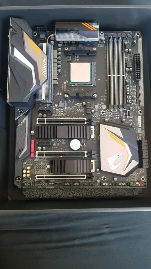 X470 Aorus Gaming 7 WiFi Motherboard & Ryzen 7 2700x CPU | in Broughty  Ferry, Dundee | Gumtree