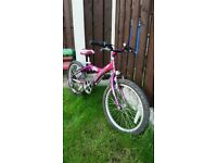"""Girls 20"""" Magna bike can deliver for a small charge"""