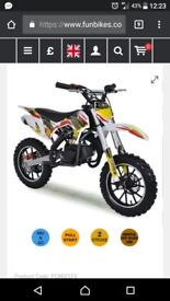 50cc pit bike almost new great condition