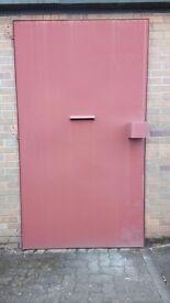 Industrial security door