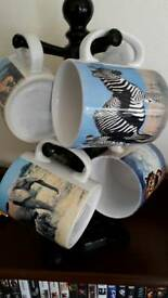 Cups with stand