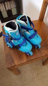 Zinc Skates Size 9-12 in Blue