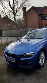 This is my Stunning BMW M-Sport in Stunning Blue