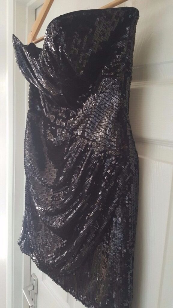 Lipsy Black Sequin Dress (Size 12) Brand new without tagsin Hove, East SussexGumtree - Stunning Lipsy dress in black sequin. Brand new without tags. Size 12. Never worn