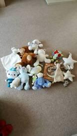 Soft toy Bundle. Including Comfort blankets